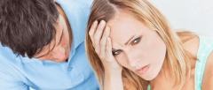 Pareja con problemas de fertilidad