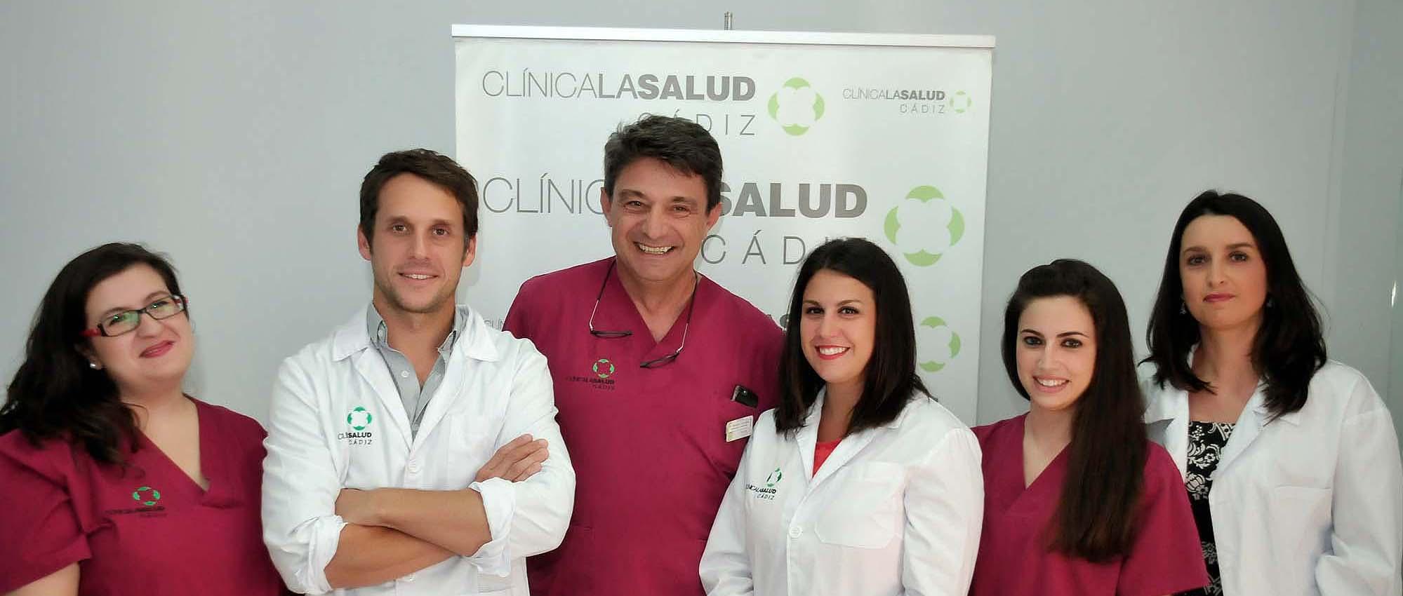 Equipo médico Clínica La Salud, Cádiz