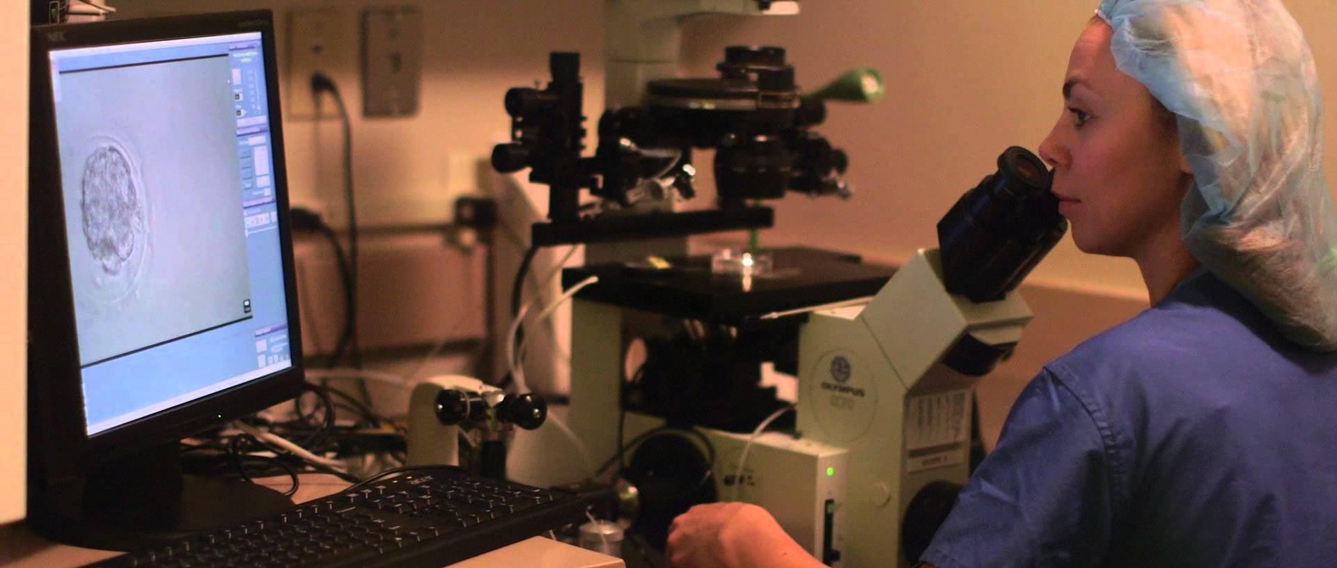 Shady Grove Fertility laboratorio