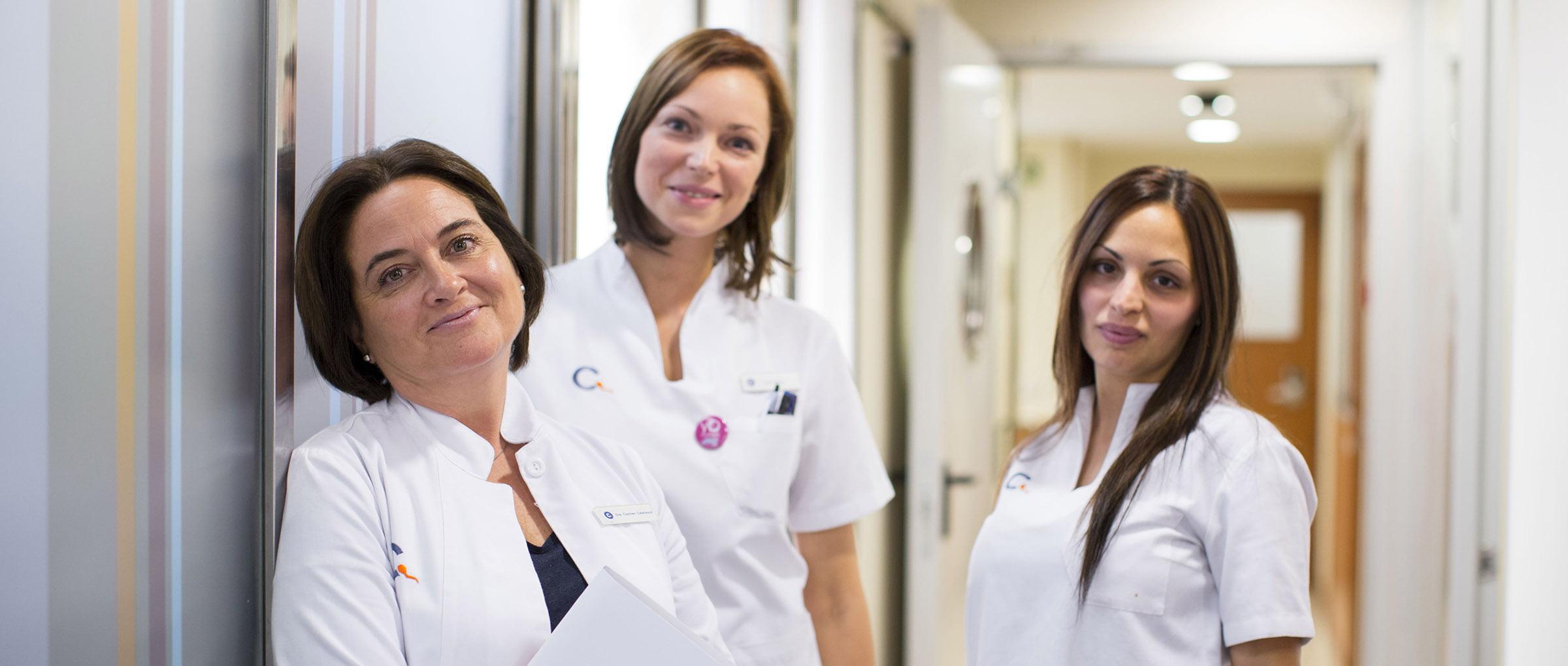 Equipo de clínica CREA