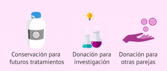 Resultado de imagen de las donaciones de semen van a consevación para futuros tratamientos, donacion para la investigacion para parejas