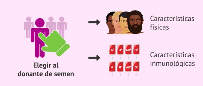 Imagen: Criterios de selección del donante de esperma