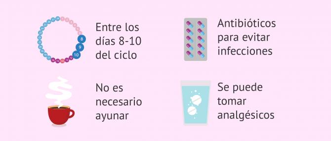 Imagen: Consejos previos a la HCG