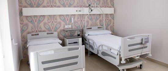 Unidad Phi Fertility Center habitaciones