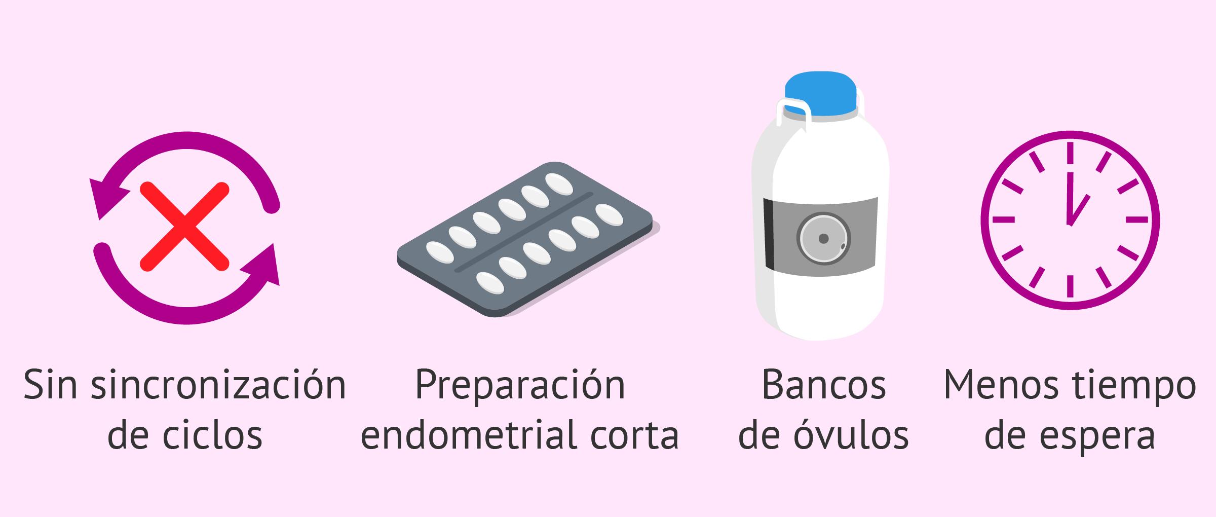 Pros de la donación con óvulos congelados